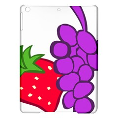 Fruit Grapes Strawberries Red Green Purple Ipad Air Hardshell Cases