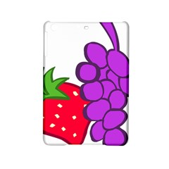 Fruit Grapes Strawberries Red Green Purple Ipad Mini 2 Hardshell Cases by Alisyart