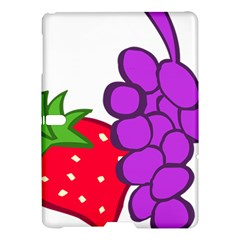 Fruit Grapes Strawberries Red Green Purple Samsung Galaxy Tab S (10 5 ) Hardshell Case  by Alisyart
