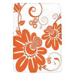 Floral Rose Orange Flower Flap Covers (s)