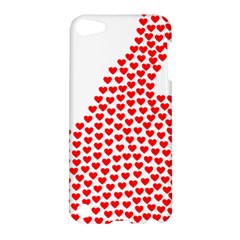 Heart Love Valentines Day Red Sign Apple Ipod Touch 5 Hardshell Case by Alisyart