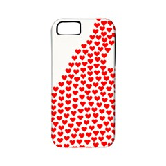 Heart Love Valentines Day Red Sign Apple Iphone 5 Classic Hardshell Case (pc+silicone) by Alisyart
