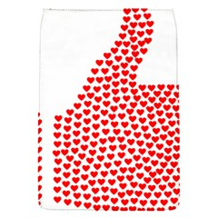 Heart Love Valentines Day Red Sign Flap Covers (s)  by Alisyart