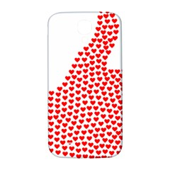 Heart Love Valentines Day Red Sign Samsung Galaxy S4 I9500/i9505  Hardshell Back Case by Alisyart