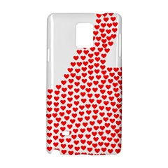 Heart Love Valentines Day Red Sign Samsung Galaxy Note 4 Hardshell Case by Alisyart