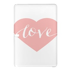 Love Valentines Heart Pink Samsung Galaxy Tab Pro 12 2 Hardshell Case