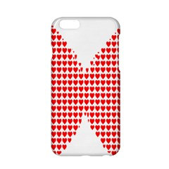 Hearts Butterfly Red Valentine Love Apple Iphone 6/6s Hardshell Case by Alisyart