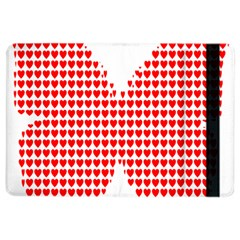 Hearts Butterfly Red Valentine Love Ipad Air 2 Flip by Alisyart