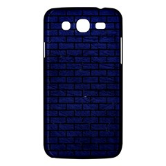 Brick1 Black Marble & Blue Leather (r) Samsung Galaxy Mega 5 8 I9152 Hardshell Case  by trendistuff
