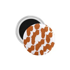 Machovka Autumn Leaves Brown 1 75  Magnets by Alisyart
