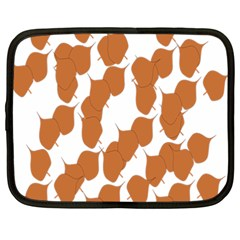 Machovka Autumn Leaves Brown Netbook Case (xxl)  by Alisyart