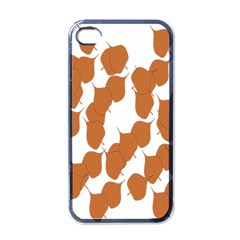Machovka Autumn Leaves Brown Apple Iphone 4 Case (black)