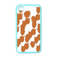 Machovka Autumn Leaves Brown Apple Iphone 4 Case (color) by Alisyart