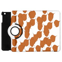 Machovka Autumn Leaves Brown Apple Ipad Mini Flip 360 Case by Alisyart
