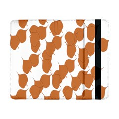 Machovka Autumn Leaves Brown Samsung Galaxy Tab Pro 8 4  Flip Case by Alisyart
