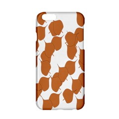 Machovka Autumn Leaves Brown Apple Iphone 6/6s Hardshell Case by Alisyart