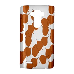 Machovka Autumn Leaves Brown Lg G4 Hardshell Case