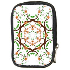 Floral Tree Leaf Flower Star Compact Camera Cases by Alisyart