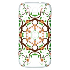 Floral Tree Leaf Flower Star Samsung Galaxy S3 S Iii Classic Hardshell Back Case by Alisyart
