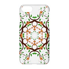 Floral Tree Leaf Flower Star Apple Iphone 7 Hardshell Case