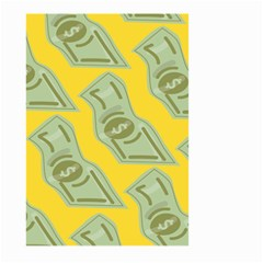 Money Dollar $ Sign Green Yellow Large Garden Flag (two Sides) by Alisyart