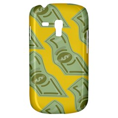 Money Dollar $ Sign Green Yellow Galaxy S3 Mini by Alisyart