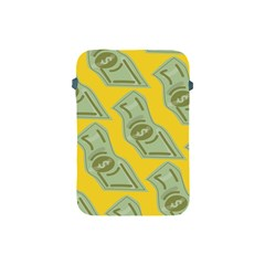 Money Dollar $ Sign Green Yellow Apple Ipad Mini Protective Soft Cases by Alisyart