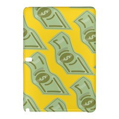 Money Dollar $ Sign Green Yellow Samsung Galaxy Tab Pro 10 1 Hardshell Case by Alisyart
