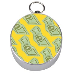 Money Dollar $ Sign Green Yellow Silver Compasses by Alisyart