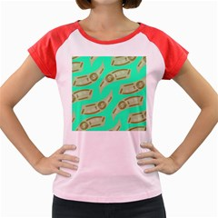Money Dollar $ Sign Green Women s Cap Sleeve T Shirt by Alisyart