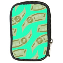 Money Dollar $ Sign Green Compact Camera Cases by Alisyart
