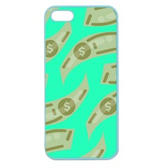 Money Dollar $ Sign Green Apple Seamless Iphone 5 Case (color)