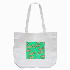 Money Dollar $ Sign Green Tote Bag (white) by Alisyart