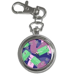 Money Dollar Green Purple Pink Key Chain Watches by Alisyart