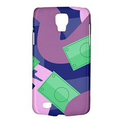 Money Dollar Green Purple Pink Galaxy S4 Active by Alisyart