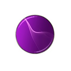 Purple Line Hat Clip Ball Marker by Alisyart