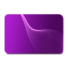 Purple Line Plate Mats by Alisyart