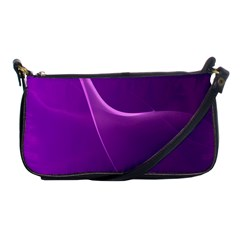 Purple Line Shoulder Clutch Bags by Alisyart