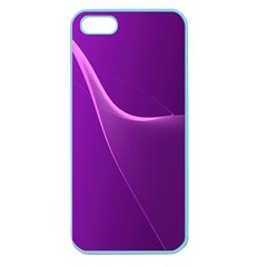 Purple Line Apple Seamless Iphone 5 Case (color) by Alisyart