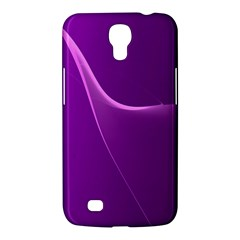 Purple Line Samsung Galaxy Mega 6 3  I9200 Hardshell Case by Alisyart
