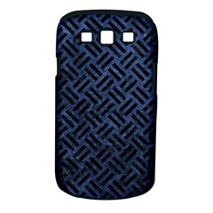 Woven2 Black Marble & Blue Stone (r) Samsung Galaxy S Iii Classic Hardshell Case (pc+silicone) by trendistuff