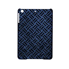 Woven2 Black Marble & Blue Stone (r) Apple Ipad Mini 2 Hardshell Case by trendistuff