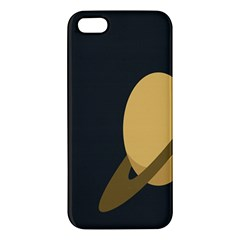 Saturn Ring Planet Space Orange Iphone 5s/ Se Premium Hardshell Case by Alisyart