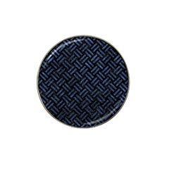 Woven2 Black Marble & Blue Stone Hat Clip Ball Marker (10 Pack) by trendistuff