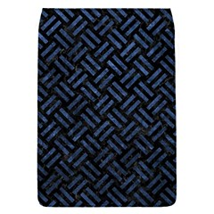 Woven2 Black Marble & Blue Stone Removable Flap Cover (s) by trendistuff