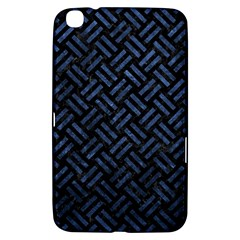 Woven2 Black Marble & Blue Stone Samsung Galaxy Tab 3 (8 ) T3100 Hardshell Case  by trendistuff
