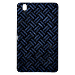Woven2 Black Marble & Blue Stone Samsung Galaxy Tab Pro 8 4 Hardshell Case by trendistuff