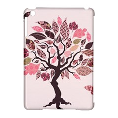 Tree Butterfly Insect Leaf Pink Apple Ipad Mini Hardshell Case (compatible With Smart Cover) by Alisyart