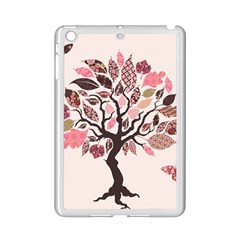 Tree Butterfly Insect Leaf Pink Ipad Mini 2 Enamel Coated Cases