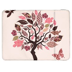 Tree Butterfly Insect Leaf Pink Samsung Galaxy Tab 7  P1000 Flip Case